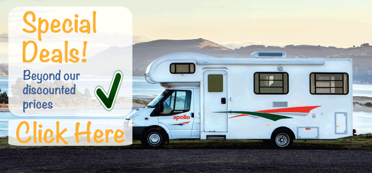 Cheap discounted campervan hire australia