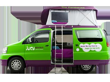 Campervan Rental Australia - Jucy Grande